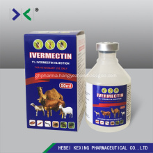 Ivermectin Injection 1% Plastic vial