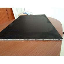 Panel de aluminio de papel de cartón de superficie de nido de abeja