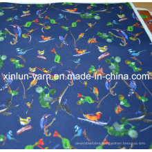 100% Polyester Colorful Cartoon Character Printing Fabric