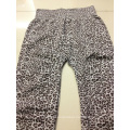 Ladies Girls Leopard Jacquard Seamless Leggings Wholesale