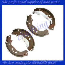 1347247 1385735 1347420 1224569 3M512200BB 3M512200BA for ford brake shoe
