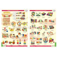 Yi Wu 2014 brinquedos novos de madeira para crianças, brinquedos de aprendizagem educacional