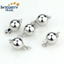 Neacklace Clasp Bracelet Clasp 925 Sterling Silver Ball Clasp