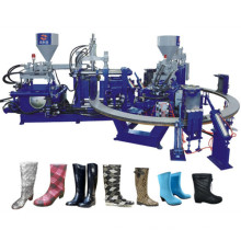 Rainshoes Making Machine Two Color