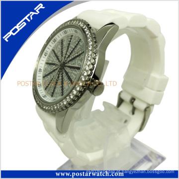 Relógio de aço inoxidável feito sob encomenda dos relógios de quartzo de PAS-2250L a + Quality