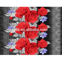 Grade-A quality for 3D disperse printing fabric,flat screen printing