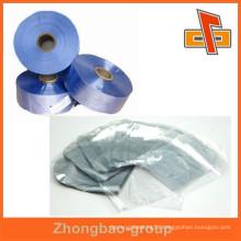 Moisture proof PVC tube film , PVC sleeve warp film for goods packaging