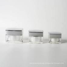 15g 30g 50g Plastic Square Acrylic Jar (EF-J40)