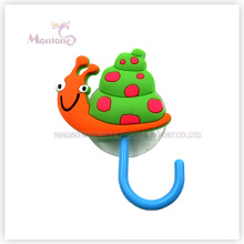 Wall Mounted Cartoon Cute Sucker Rubber Hook with Suction Cup