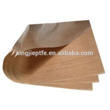 Tela de fibra de vidrio revestida PTFE de 0,08 mm