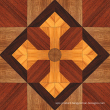 Delicate Engineered 3 Layers Sulinam Wood Parquet Solid Wood Flooring