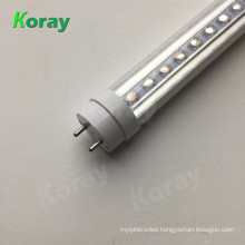 growth of light Ra97 high CRI led hydroponics grow light T8 tube