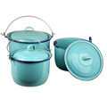 31.8 Cm High Grade Fashion Enamel Bucket (LFC1244)
