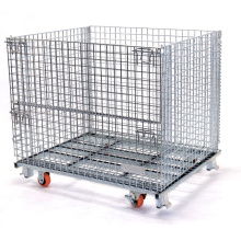 Heavy Duty Forklift Collapsible Storage Pallet Cage
