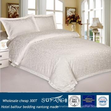 Оптовая дешевые 300Т хлопок отель бальфур отель постельные принадлежности постельное белье