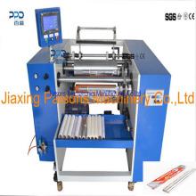Rebobinadora de papel semi automática de hoja de aluminio / silicio