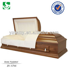 top decorative poplar wooden caskets