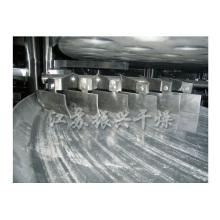 Secador rotativo de placa contínua / placa de disco para pó de coco