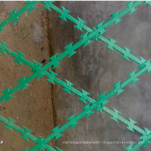 PVC Coated Welded Concertina Razor Barbed Wire Fence