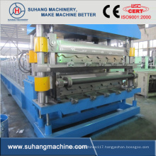 Galvanized and Cold Steel Wall Sheet Roll Forming Machine