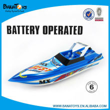 Multi- function battery operated boat toy for kid