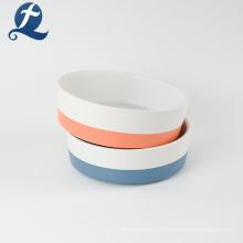 Alimentation en céramique adaptée aux besoins du client de bol de chien de alimentation animale d'animal familier en céramique