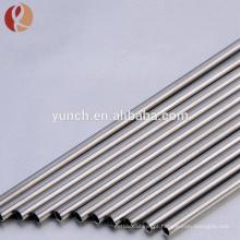 Tubo de alta qualidade tubos de titânio quente grau 5 preço