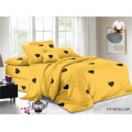 Heart Pattern Printed Children's Polyester Plain Bed Sheets