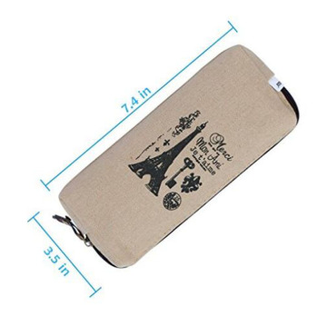 Printing Vintage Canvas Make-up Tasche für Damen