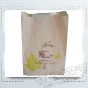Özel Kraft Kağıt Ekmek Ambalaj Kağıt Torbalar