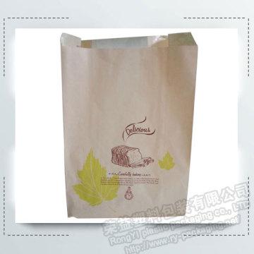 Custom Kraft Paper Bread Packaging Paper Bags
