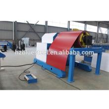 Desbobinador de bobina de acero hidráulico