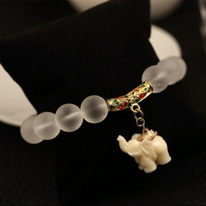 Nature Matte Crystal Beads Bracelet