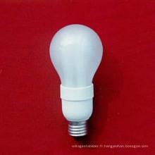 Sphérique 5-11W Type flasé, lampe économiseuse d'énergie pour types de prises standard