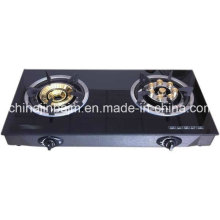 2 Burners gehärtetes Glas Top 8-Eye Energy Saving Cooktop / Gas Herd / Gasherd