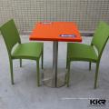 KKR restaurant tables et chaises jeddah, table de restaurant 4 places