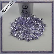 Oval Brilliant Diamond Cut Lavender Color American Diamond CZ
