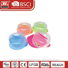 Transparent Round Plastic Cake Server