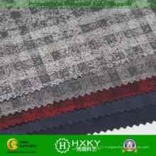 Tissu de tissu teint par polyester de Ripstop pour le vêtement des hommes