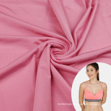 Gold Supplier superfine Nylon Spandex Comfortable Cool Elastic Fabric for Bras and Panties
