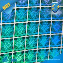 Hochwertige Anti-Fälschungs-Klebstoff-Vinyl-Hologramm-Aufkleber