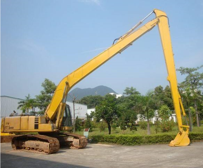 R225-7 Hyundai Long Boom