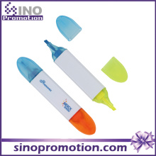 Double Headed Marker Pen Highlighter Werbeartikel Textmarker