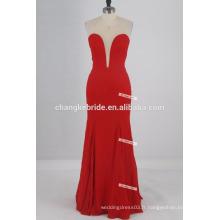 Robe de demoiselle d'honneur simple en ligne A-Strapless Floor Length 2017