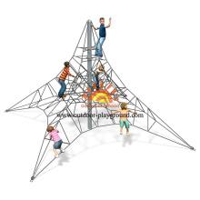 Wooden Freestanding Net Climber For Kids