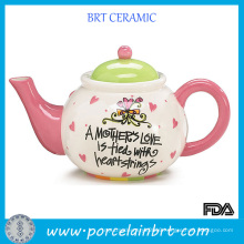 Gift Ceramic Teapot for Thanking Mother