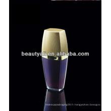 15ml 30ml 50ml 80ml 120ml Bouteille de cosmétique acrylique en plastique de luxe