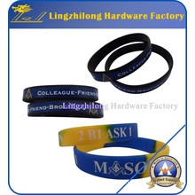 Wholeasale Masonic Silicone Bracelet for Souvenir