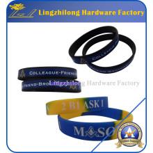 Wholeasale Masonic Silicone Bracelet for Souvenir