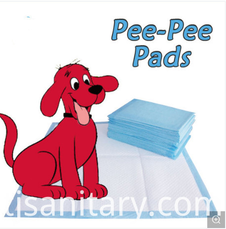 Nonwoven absorbent pet pads
